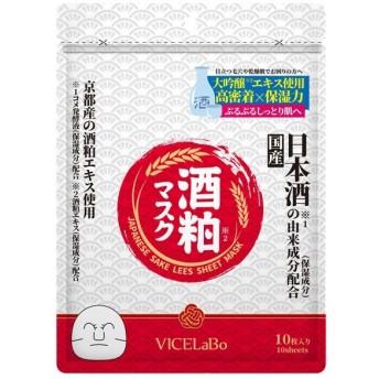 VICELaBo/酒粕フェイシャルシートマスク(本体) フェイス用シートパック・マスク ビセラボ