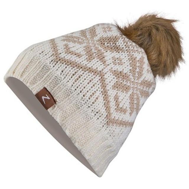 ホルツ(Horze) メンズ レディース モニカ スノーフレーク ニットキャップ ベージュ H-CW-30981-BG 乗馬 馬術 乗馬用品 カジュアルウェア 帽子