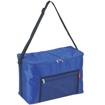 キャプテンスタッグ M-1831 ラフィネ クーラーバッグ15L(ブルー)メッシュポケット付[M1831キヤプテンスタツグ]【返品種別A】