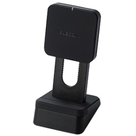 エレコムQi規格対応ワイヤレス充電器(5W・スタンドタイプ)ブラックW-QS03XBK