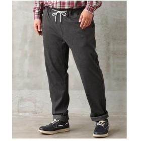 パンツ イージー 大きいサイズ カジュアル メンズ アンクル丈裏起毛テーパードイージー  3L/4L/5L ニッセン