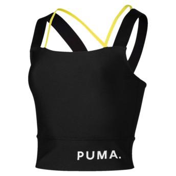 【プーマ公式通販】 プーマ CHASE ウィメンズ クロップトップ ウィメンズ Puma Black  CLOTHING PUMA.com