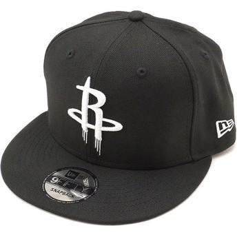 ニューエラ キャップ NEWERA NBA ヒューストン・ロケッツ 9FIFTY HOUROC LOGO スナップバック 帽子 メンズ レディース ブラック 11876725 FW18