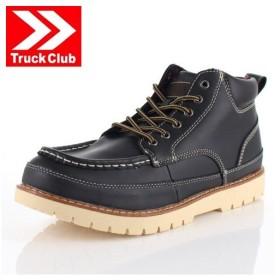 メンズ ブーツ Truck Club トラック クラブ T60460 ブラック ワークブーツ 靴 防水 防滑