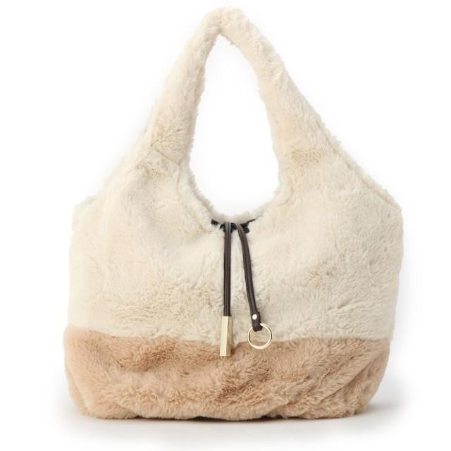 SHOO・LA・RUE/DRESKIP(シューラルー/ドレスキップ) エコファーくりてトートバッグ
