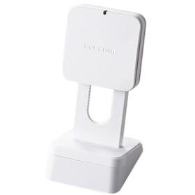 エレコムQi規格対応ワイヤレス充電器(5W・スタンドタイプ)ホワイトW-QS03XWH