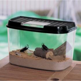 飼育ランド CY-M パールブルー ブラック 虫かご むしかご 虫籠 虫入れ カブトムシ クワガタ 昆