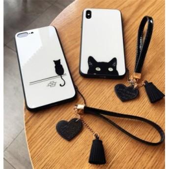 iPhone XS MAX iPhoneXR iPhoneX iPhone8 plus iPhone7 plus ケース カバー スマホケース かわいい おしゃれ ネコ猫アニマル
