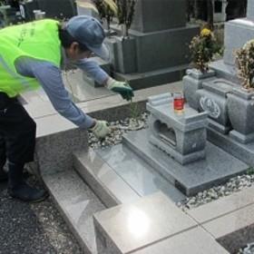 習志野市海浜霊園のお墓のお掃除代行 (第1種、第3種)