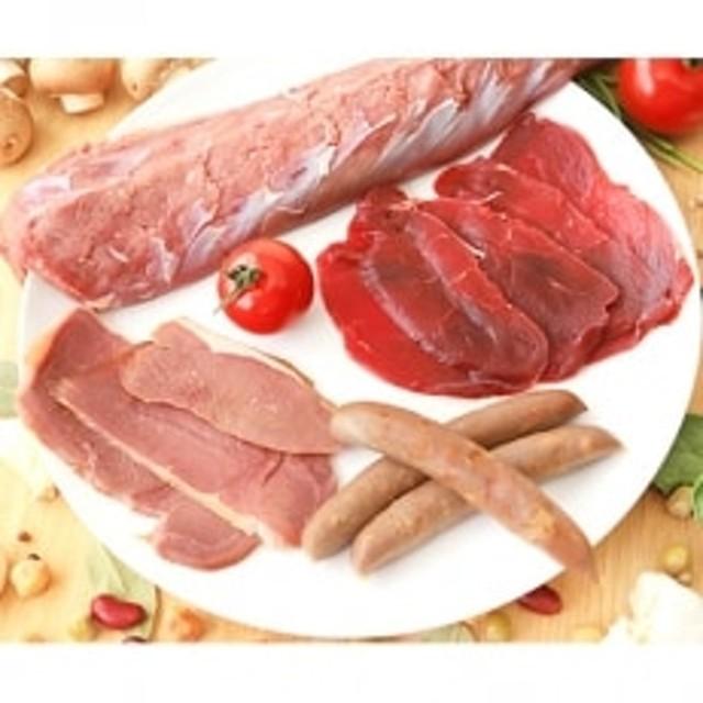 【高級背ロースで贅沢なお食事を!】C鹿肉大好きセット※レシピ付き