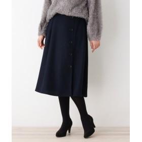 SHOO・LA・RUE/DRESKIP(シューラルー/ドレスキップ) ボタン使いスカート