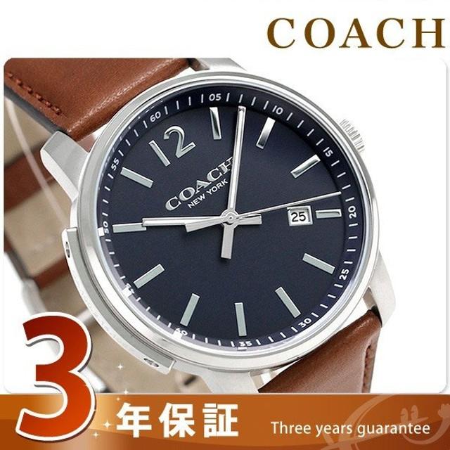 da37439f22f5 1000円割引クーポン! COACH コーチ 腕時計 ブリーカー スリム メンズ ...