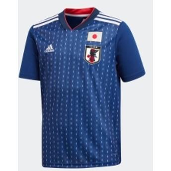(キッズ/子供用) サッカー日本代表 ホームレプリカユニフォーム半袖【FIFAワールドカップTM モデル】