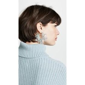 バウブルバー イヤリング アクセサリー レディース【BaubleBar Rita Resin Drop Earrings】Green