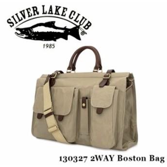 シルバーレイククラブ SILVER LAKE CLUB ボストンバッグ 130327 9号帆布 2WAY ショルダーバッグ メンズ 撥水性
