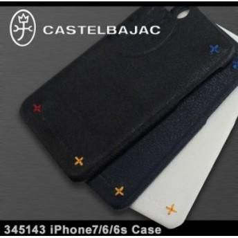 カステルバジャック iPhone8 iPhone7 iPhone6 ケース アバ メンズ 345143   CASTELBAJAC iPhone 8 7 6 当社限定 別注オリジナル スマホケ