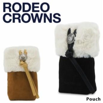 RODEO CROWNS ロデオ クラウンズ 2way ポーチ スマホケース c06921604