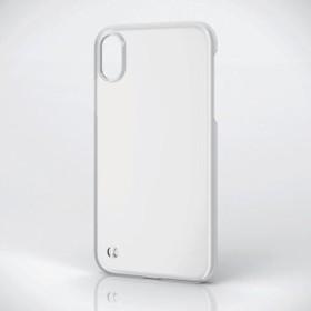 6e8b7fb7c4 エレコム iPhone XS Max シェルカバー ストラップホール付 クリア (1コ入 ...