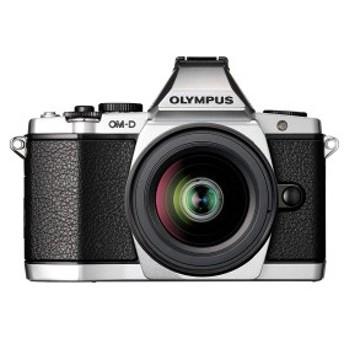 【中古 保証付 送料無料】OLYMPUS OM-D E-M5 レンズキット シルバー / デジタルカメラ ミラーレス一眼/一眼レフカメラ/初心者