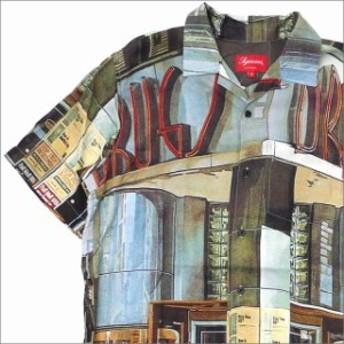 (新品)SUPREME(シュプリーム) Drugs Rayon Shirt (半袖シャツ) MULTICOLOR 215-001298-139+【新品】(TOPS)