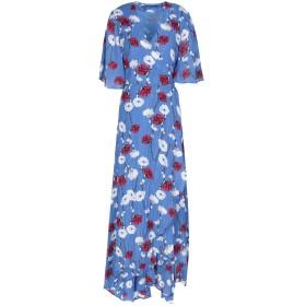 《9/20まで! 限定セール開催中》ANONYME DESIGNERS レディース 7分丈ワンピース・ドレス ブルー L 65% コットン 35% ナイロン