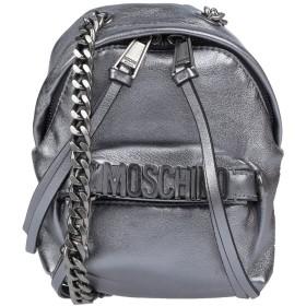 《期間限定セール中》MOSCHINO レディース メッセンジャーバッグ 鉛色 革