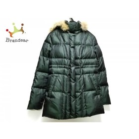 アンタイトル UNTITLED ダウンジャケット サイズ2 M レディース ダークグリーン 冬物  値下げ 20190602【人気】
