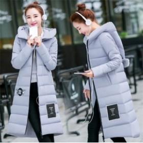 ロング中綿コート レディース ロングコート パーカ 大きいサイズ 冬服 防寒 中綿中綿コート アウター 軽量