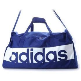 アディダス adidas ダッフルバッグ リニアロゴチームバッグL DM7659 498 (ブルー)