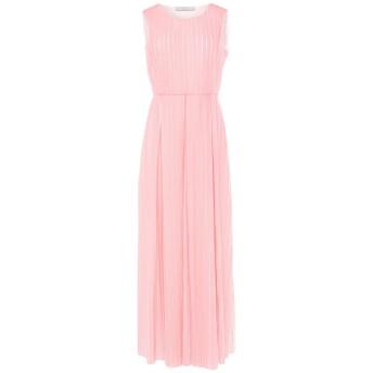 《セール開催中》HARRIS WHARF LONDON レディース ロングワンピース&ドレス ピンク 42 100% ポリエステル