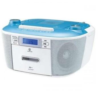 KOIZUMI CDステレオラジカセ ブルー SAD-4935A 小泉成器