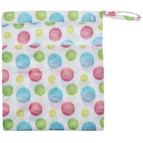 防水 赤ちゃん おむつ袋 ポーチ ドライバッグ 収納バッグ 再使用可能 全10色 - スタイル8