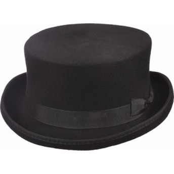 ハット 帽子 メンズ【Scala WF570 Steam Punk Top Hat】Black