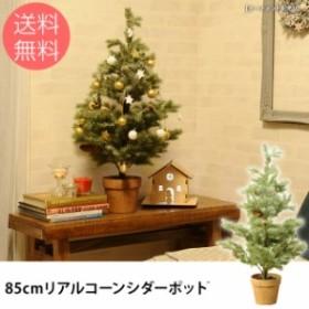 85cmリアルコーンシダーポット クリスマスツリー ツリー クリスマス リアル