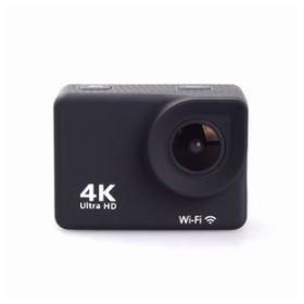 SAC 4Kアクションカメラ Wi-F対応 リストバンドリモコン付属 ブラック MC8000BK エスエーシー