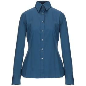 《セール開催中》NOUVELLE FEMME レディース シャツ ブルー 38 70% コットン 27% ナイロン 3% ポリウレタン