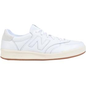 《期間限定セール開催中!》NEW BALANCE メンズ スニーカー&テニスシューズ(ローカット) ホワイト 8 革 / 紡績繊維 CRT300 Luxury Leather