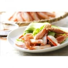 ゆで毛蟹脚肉(350g)三杯酢(30ml)付