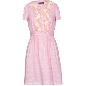 《セール開催中》BOUTIQUE MOSCHINO レディース ミニワンピース&ドレス ピンク 38 コットン 80% / シルク 20%