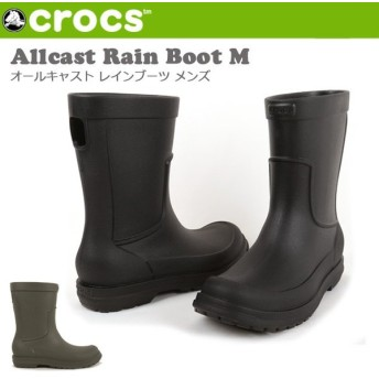 CROCS クロックス Allcast Rain Boot M 204862
