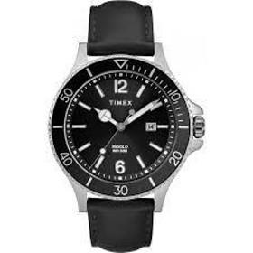 メンズ腕時計 ハーバーサイド ブラック レザー 【正規品】 TW2R64400