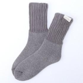 靴下 レディース あったか裏起毛ソックス 「アメリブグレー」,179) %>