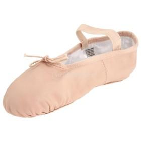 ノーブランド品  女の子 女性 バレエ靴 練習用 ダンス シューズ バレエシューズ ブーツ ピンク 豚革 ソフト 柔軟 11サイズ選べる - 30