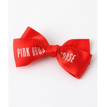 PINK HOUSE / ピンクハウス ロゴリボンブローチ