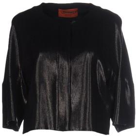 《セール開催中》MISSONI レディース テーラードジャケット ブラック 42 レーヨン 98% / ナイロン 2%