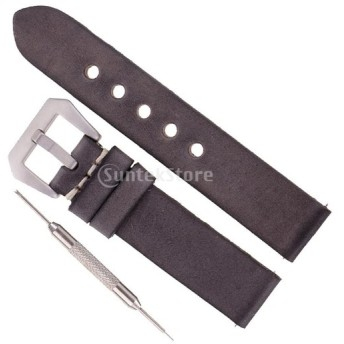 全4サイズ 時計アクセサリー 腕時計バンド ウオッチストラップ 交換用ベルト グレー - 22mm