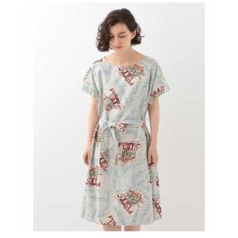 Jocomomola ホコモモラ / FESTEJOS POPULARES デザインプリントドレス