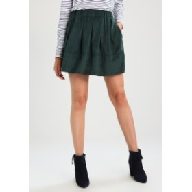Moves A line skirts レディース【 KIA - A-line skirt - green】green