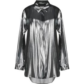 《セール開催中》ALBERTA FERRETTI レディース シャツ グレー 38 シルク 60% / ポリエステル 40%