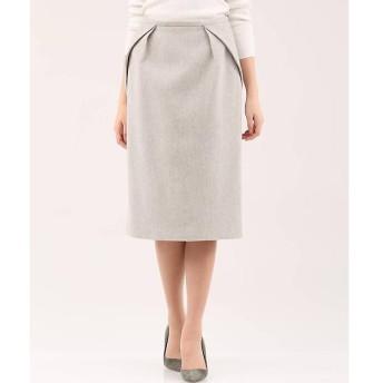 INED / イネド 《セットアップ対応》ヘリンボーン柄スカート